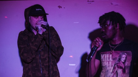 Alongside Jack Jetson, regular collaborator and Leeds rap don in his own right.