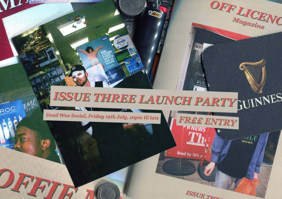 ISSUE THREE LAUNCH PARTY