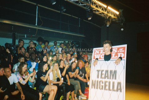 Team Nigella Sports Banger Fashion Week 56