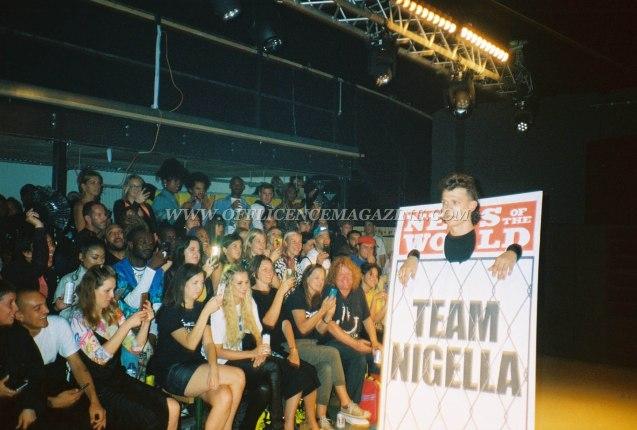 Team Nigella Sports Banger Fashion Week 56
