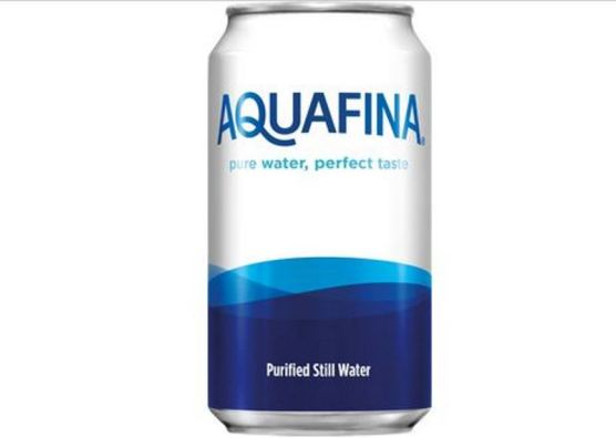 CANNED WATER: We couldn't decide on our fifth selection and we had this in the green room of a gig once. Nice novelty, very crisp if refrigerated.