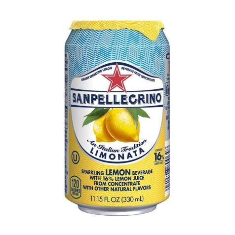 SAN PELI LIMONATA: The standard setter. Elegant, premium, refreshing, delicious. A winner.